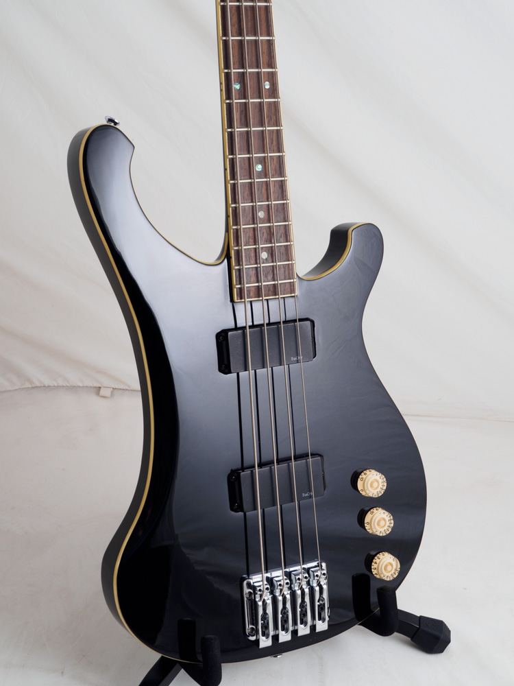 rare no longer produced bach electric bass 4 string black color glossy finish buy on line. Black Bedroom Furniture Sets. Home Design Ideas